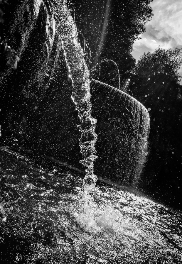 Water 1, Villa d'Este, Rome, Italy, September 2016