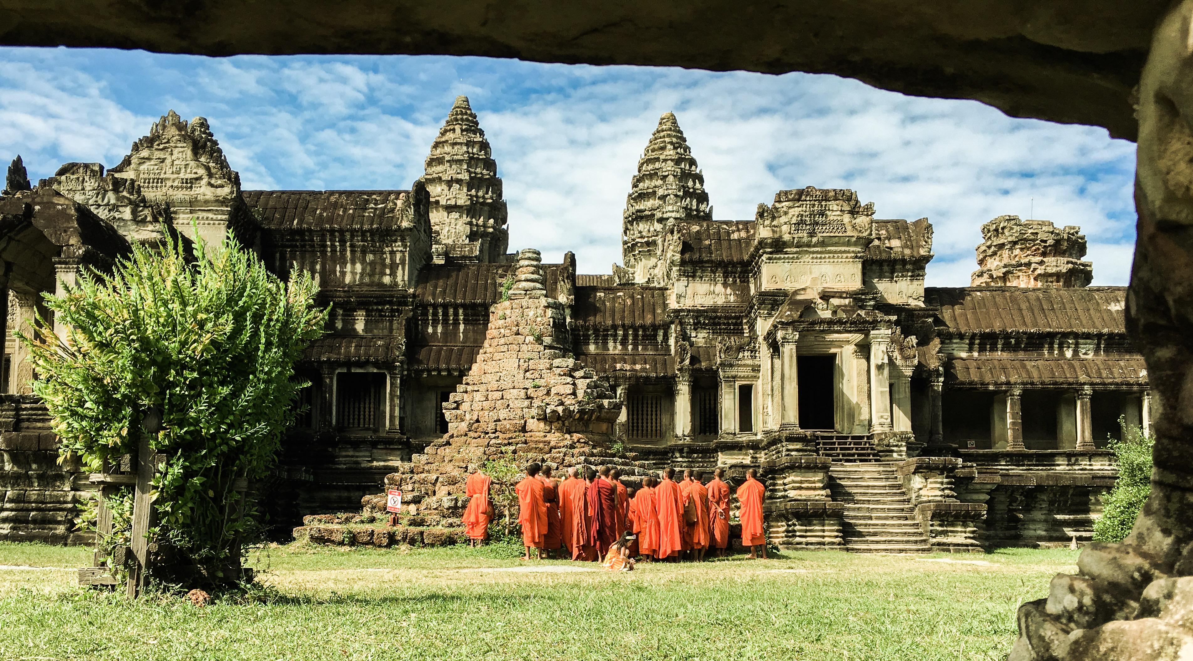 Angkor Wat, Cambodia, December 2016